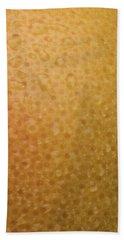 Grapefruit Skin Beach Towel
