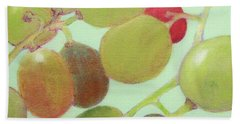 Grapes #6 Beach Towel