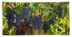 Grapes Are Ready Beach Towel