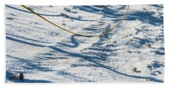 Grass Scapes In The Sand Beach Towel