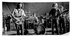 Grateful Dead In Concert - San Francisco 1969 Beach Towel