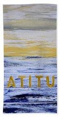 Gratitude Beach Towel