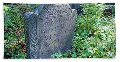 Grave Of Mary Hall Beach Towel