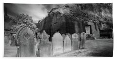 Graveyard,liverpool Beach Towel