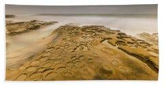 Gray Reflecting Moment Beach Towel
