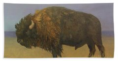Great American Bison Beach Towel