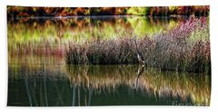 Great Blue Heron 2 Beach Towel