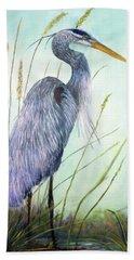 Great Blue Heron Beach Sheet
