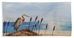 Great Blue Heron - Outer Banks Beach Sheet