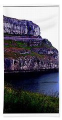 Great Britain Cliffs Beach Towel