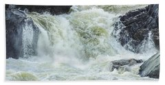 Great Falls Of The Potomac Beach Towel