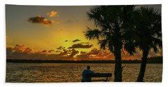 Great Pocket Sunrise Beach Towel
