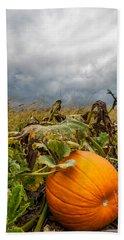 Great Pumpkin Off Center Beach Sheet