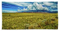 Great Sand Dunes National Park Beach Towel