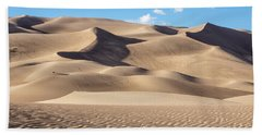 Great Sand Dunes National Park In Colorado Beach Sheet