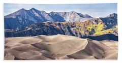Great Sand Dunes Of Southern Colorado Beach Sheet