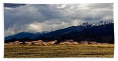 Great Sand Dunes Panorama Beach Towel