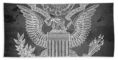 Great Seal Of The United States Of America Beach Towel