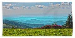Great Smoky Mountain Afternoon Beach Towel