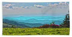 Great Smoky Mountain Afternoon Beach Sheet