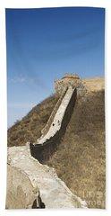 Great Wall Of China - Jinshanling Beach Towel
