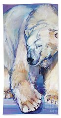 Great White Bear Beach Towel