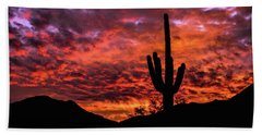 Greater Scottsdale Arizona Beach Towel