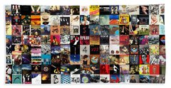 Greatest Album Covers Of All Time Beach Towel