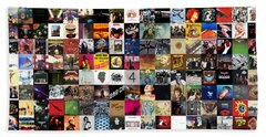 Greatest Rock Albums Of All Time Beach Sheet