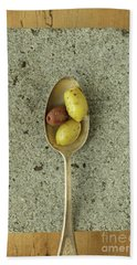 Greek Olives Beach Towel