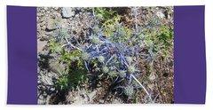 Greek Spiky Plant Beach Sheet