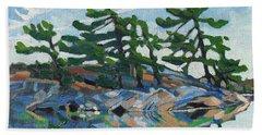 Green A Island Beach Towel
