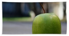 Green Apple- Photography By Linda Woods Beach Towel