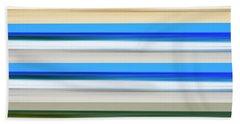 Green Blue Green Beach Sheet