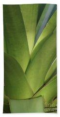 Green Bromelia 1 Beach Sheet