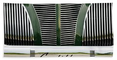 Green Cadillac Beach Towel