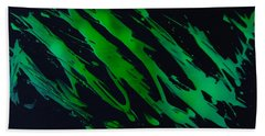 Green Escape Beach Towel