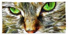 Zen Cat Beach Sheet