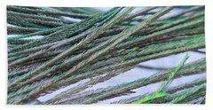 Green Feathers Beach Sheet