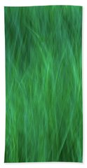 Green Fire 2 Beach Towel