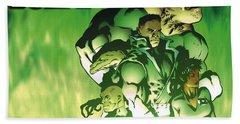Green Lantern Corps Beach Towel