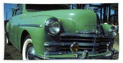 American Limousine 1957 - Historic Car Photo Beach Sheet