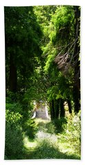 Green Lombardy Beach Sheet