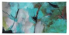 Blue Man Beach Towel by Suzzanna Frank