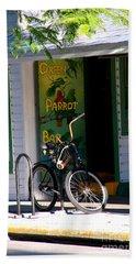 Green Parrot Bar Key West Beach Sheet
