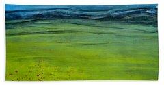 Green Pastures Beach Towel