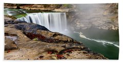 Green River Falls Beach Towel