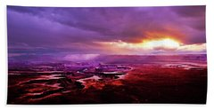 Green River Overlook Beach Towel