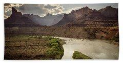 Green River, Utah Beach Towel