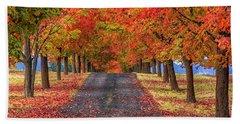 Greenbluff Autumn Beach Sheet
